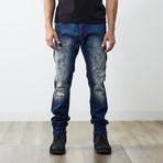 "Tepphar II Slim Carrot Jeans // Blue // 32"" Inseam (31WX32L)"