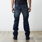 "Darron Reg Slim Tapered Jeans // Dark Blue // 32"" Inseam (27WX32L)"