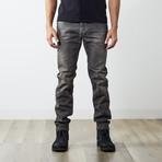 """Iakop Reg Slim Tapered Jeans // Medium Dark Gray // 30"""" Inseam (30WX30L)"""