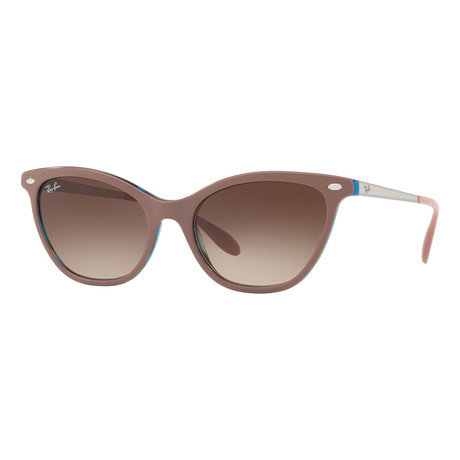 Ray-Ban // Women's Cat Eye Sunglasses // Light Brown