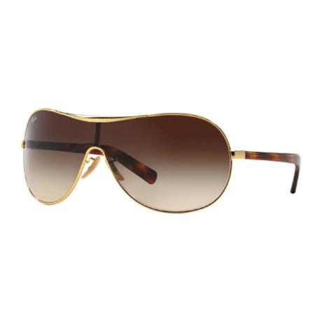 Ray-Ban // Men's Navigator Sunglasses // Havana Brown