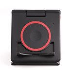 Unravel AW+ // 3 Panel Wireless Charger + Travel Case (Black)