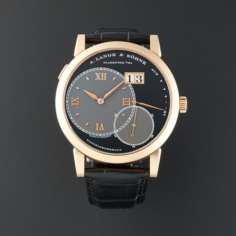 A. Lange & Sohne Grand Lange 1 Manual Wind // 115.031 // Pre-Owned