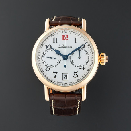 Longines Heritage Chronograph Automatic // L2.775.8.23.3 // Pre-Owned