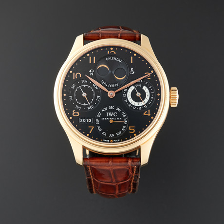IWC Portuguese Perpetual Calendar Automatic // IW502103 // Pre-Owned