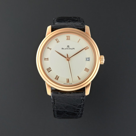 Blancpain Villeret Ultra Slim Automatic // 1158-3642-55 // Pre-Owned