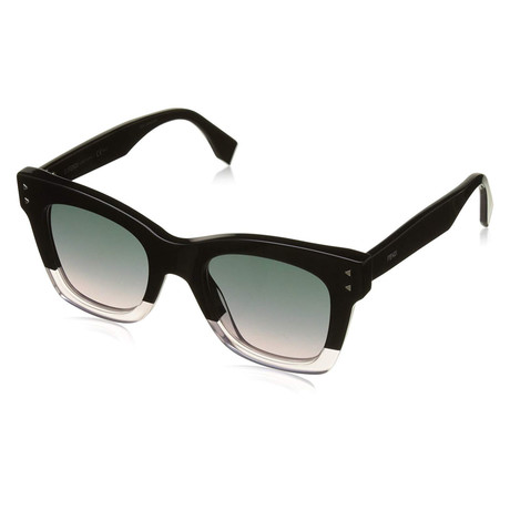 Men's 0237 Sunglasses // Black + Pink + Green