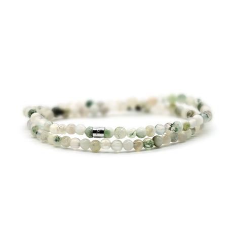 Light Skinny Bracelet // Green