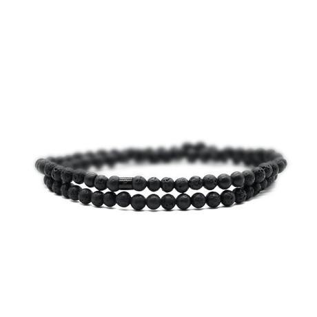 Lavish Skinny Bracelet // Black