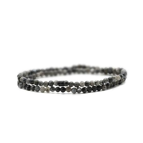 Stone Cold Skinny Bracelet // Gray