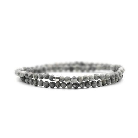 You rock! Skinny Bracelet // Gray