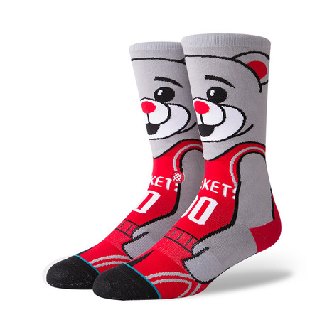 Clutch The Bear Socks // Red (S)