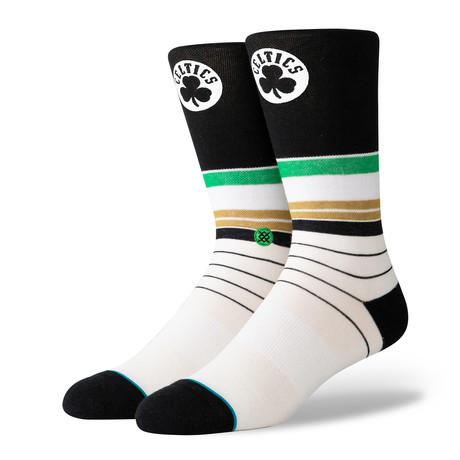 Celtics Baseline Socks // Multicolor (S)