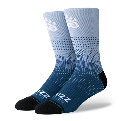 Grizz Gaming 2K Socks // Blue (M)