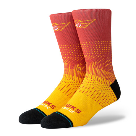 Hawks Talon GC 2K Socks // Multicolor (M)