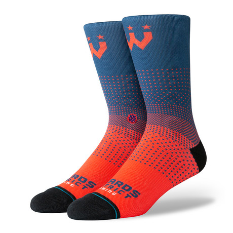 Wizards District Gaming Socks // Navy (M)