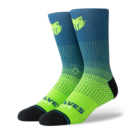 Twolves Gaming 2K Socks // Navy (M)