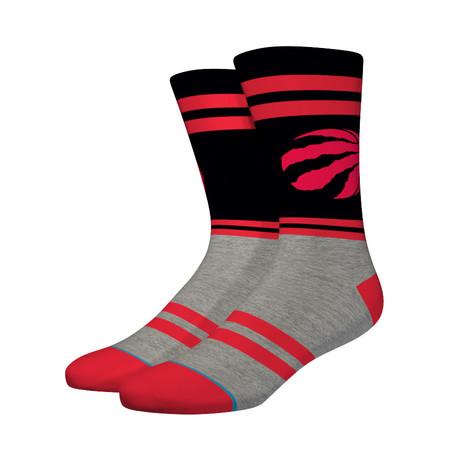 City Gym Raptors Socks // Black (M)