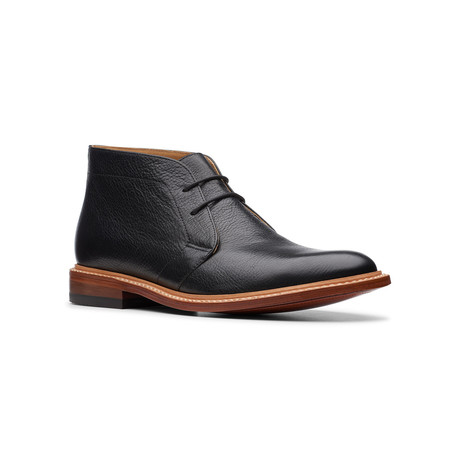 Commonwealth // No16 Soft Boot // Black Leather (US: 7)