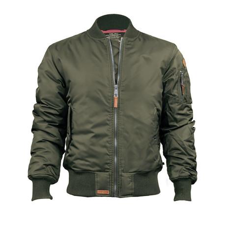 MA-1 Bomber Jacket // Olive (XS)