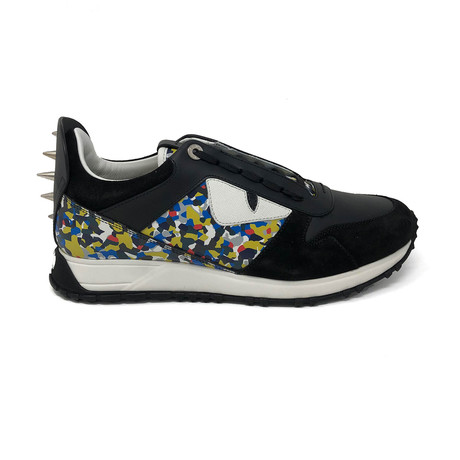 Fendi // Bag Bugs Sneakers V1 // Black (UK: 5)