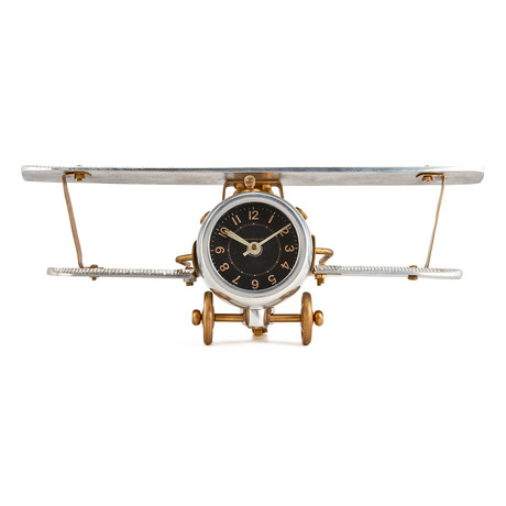 Doubledecker Table Clock