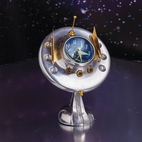 UFO Table Clock