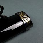 Musha Higanbana Katana + Tsuka Dagger (Black)