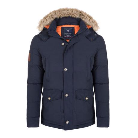 Hayden Coat // Navy (S)