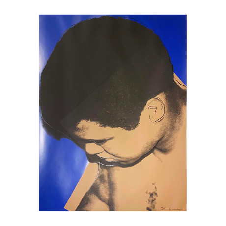 Andy Warhol // Muhammad Ali: Looking Down II.180 // 1978