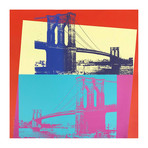 Andy Warhol // Brooklyn Bridge II.290 // 1983