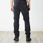 "Belther Reg Slim Tapered Jeans // Black // 30"" Inseam (26WX30L)"
