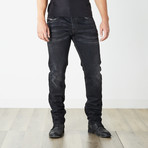 "Belther Reg Slim Tapered Jeans // Black // 32"" Inseam (29WX32L)"