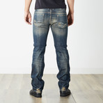 "Safado I Reg Slim Straight Jeans // Blue // 32"" Inseam (29WX32L)"