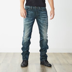 "Safado II Reg Slim Straight Jeans // Blue // 32"" Inseam (26WX32L)"