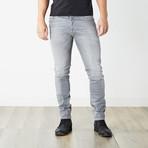 "Tepphar Slim Carrot Jeans // Medium Light Gray // 32"" Inseam (30WX32L)"