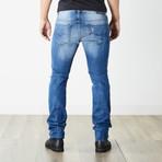 "Thavar Slim Skinny Jeans // Blue // 30"" Inseam (26WX30L)"