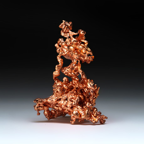 Genuine Copper Abstract Sculpture // v.2
