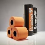 Renova Tissue 3-Pack Gift Tube // Black + Orange // Set of 2