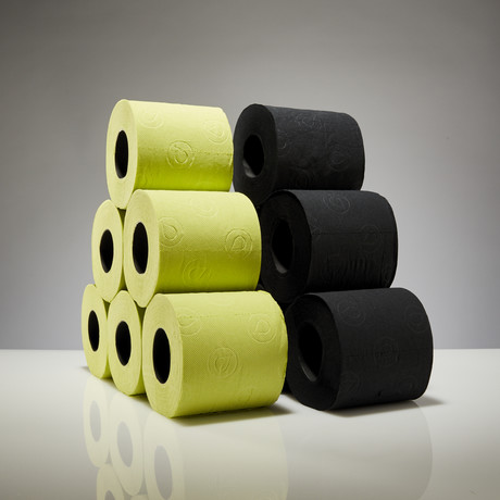 Renova Tissue 6-Pack // Black + Green // Set of 2