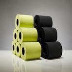 Renova Tissue 6-Pack // Black + Green // Set of 2