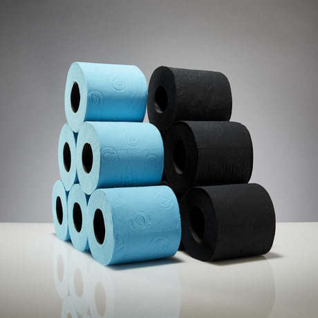 Renova Tissue 6-Pack // Black + Blue // Set of 2