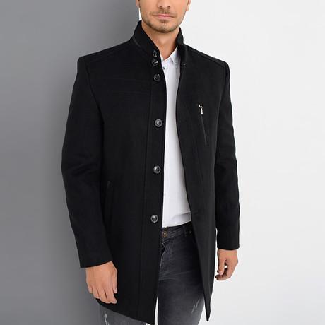 Dublin Overcoat // Black (Small)