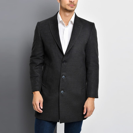 Bruges Overcoat // Anthracite (Small)