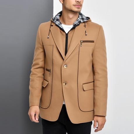 Naples Overcoat // Camel (Small)