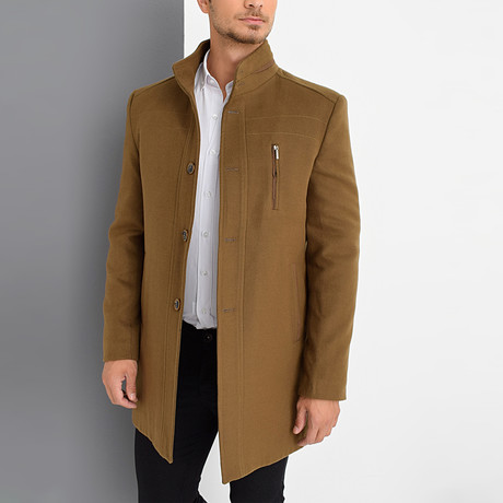 Dublin Overcoat // Camel (Small)