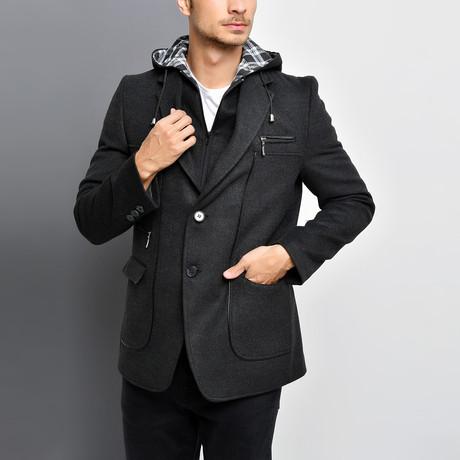 Naples Overcoat // Anthracite (Small)