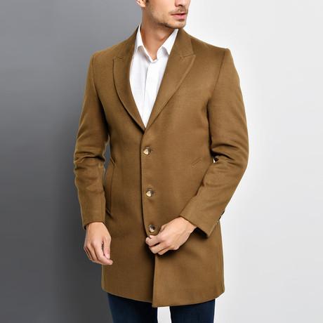 Bruges Overcoat // Camel (Small)