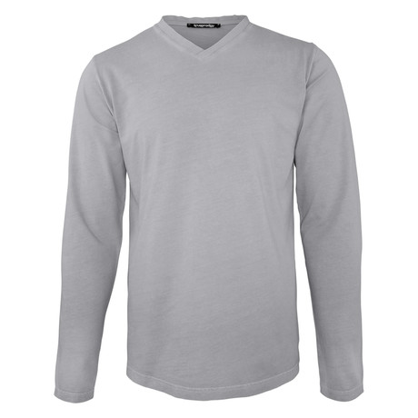 Leroy Long Sleeve // Gray (Small)
