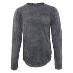 Bradley Long Sleeve Shirt // Anthracite (Small)